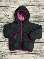 The North Face Girls' Reversible Hooded Jacket Size 2T