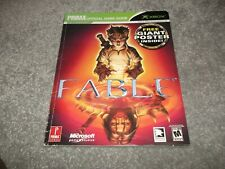 Prima Official Game Guide XBOX Fable (2004)