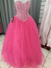 Robe de mariée/soirée rose fushia  Taille 44 -  LIVRABLE DE SUITE