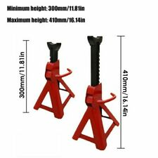 Steel Racing Jack Stands 3 Ton 6000 Lb Pair 1 Heavy Duty Car Truck Auto Usa
