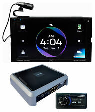 ALPINE PXE-0850S Digital Signal Processor EQ + JVC Wireless Carplay Receiver