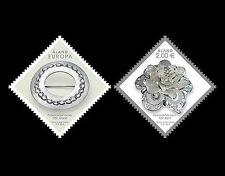 Aland 2015  sieraden uitgifte met Zwitserland  postfris/mnh