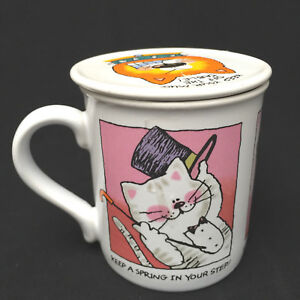 Hallmark Mug Mates Cats Four Different Cats With Sayings