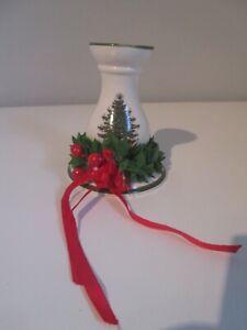 Spode Christmas Tree Candlestick