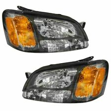 Headlights Headlamps Pair Set for Subaru Legacy Gt Baja Outback (Fits: Subaru)