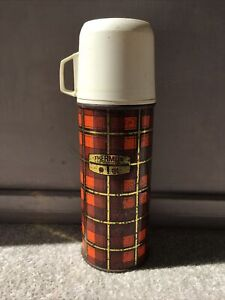 Vintage Retro Thermos Flask, Model 18, 0.45Litres , Made In England