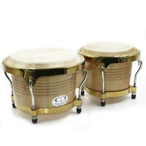 "GP Percussion Pro Series Tunable Hickory Bongos B10 6.5"" / 8"""