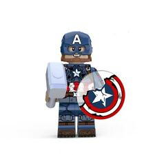 Avengers Endgame Custom Mini Figures - Captain America (Final Battle)