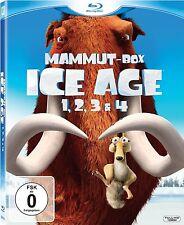 ICE AGE 1-4, Mammut-Box (4 Blu-ray Discs) NEU+OVP