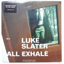 "SEALED LUKE SLATER: All Exhale LP NOVAMUTE RECORDS 30540 US 1999 12"""