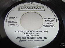 DINO SOLERA/MUNICH MACHINE-CLASSICALLY ELSIE PT1/PT2 45
