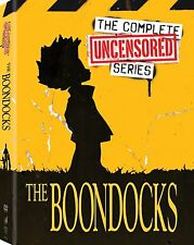 The Boondocks UNCENSORED Complete Series Season 1-4 1 2 3 4 NEW 11-DISC DVD SET