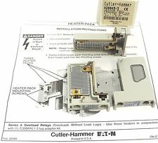NIB CUTLER-HAMMER H2004B-3 HEATER PACK FREEDOM SERIES (SET OF 3) H2004B3