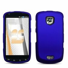 Hard Rubberized Case for Samsung Droid Charge i510 - Blue