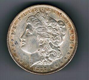 1889 US USA Morgan Dollar silver coin : 26.7g