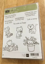 Stampin Up PRETTY KITTY Stamp Set