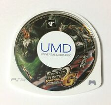 USED PSP Disc Only Monster Hunter Portable 2nd G JAPAN import Japanese game A