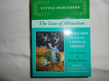 Little Reminders the Law of Attraction 36 Oracle Cards to Guide You to Wealth