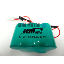 King Motor 4800MAH NIMH 6V Battery Fits HPI Baja 5B 5T 5SC Rovan Buggy & Truck
