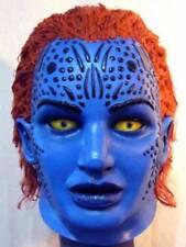 MYSTIQUE X-MEN LATEX MASK -- Costume Prop Cosplay Comic Life Size Bust Halloween