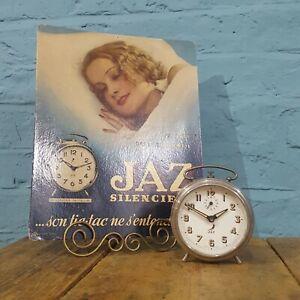 A Collectors Art Deco Alarm Clock by 'Jaz'.