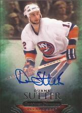 DUANE SUTTER 2011-12 Parkhurst Champions Autograph New York Islanders