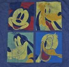t-shirt large disney pluto mickey mouse donald duck goofy 24.5 inches pit to pit