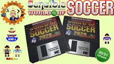 SENSIBLE WORLD OF SOCCER 2020 / 2021 Floppy Disk SWOS Amiga