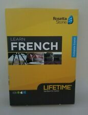 Rosetta Stone: Learn FRENCH with Lifetime Access - NEW SEALED RETAIL