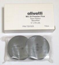 Olivetti MS25 Premier Plus Typewriter Ribbon - Black/Red - P/N 7331525