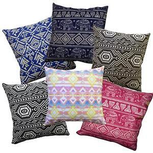 Pillow Cover*Thailand Cotton Canvas Sofa Seat Pad Cushion Case Custom Size*AL8