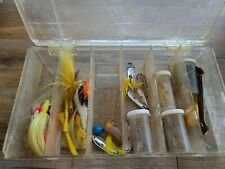 New listing Vintage Lot Of Fishing Lures And Tackle In Box