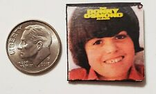 "Dollhouse Miniature Record Album 1"" 1/12 Barbie The Donny Osmond"