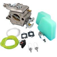 Carburetor Spark Plug Primer Bulb Set For Craftsman 42cc Walbro Chainsaw Parts