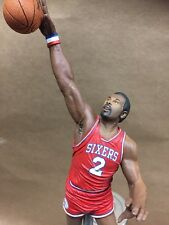 Philadelphia 76ers TAP HANDLE Moses Malone Beer Keg NBA Red Jersey
