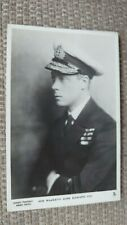 His Majesty KIng Edward VIII Tuck Real Photo Postcard