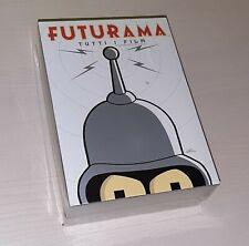 FUTURAMA / Tutti i film - 4 DVD - Cofanetto NUOVO E SIGILLATO - 20th Century FOX