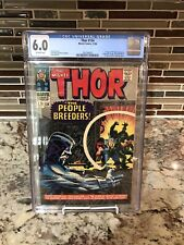 Thor #134 CGC 6.0 1st App High Evolutionary Man-Beast Fafnir 1966 Rocket Key