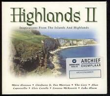 HIGHLANDS II CD DIGIPACK Maire Brennan Van Morrison Loreena McKennitt Luka Bloom