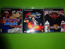 Empty Replacement Cases! Capcom vs. SNK Pro King of Fighters 95 99 PS1 PS2 PS3