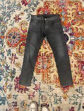 G STAR RAW Mens 3301 Slim Grey Jeans 34 x 32