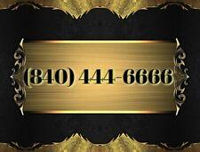 840 easy vanity phone Number California (840) 444-6666 Double Repeat