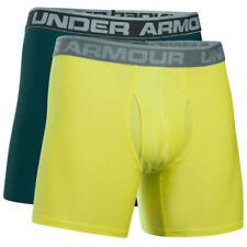Ropa interior boxeres verde para hombre con pack