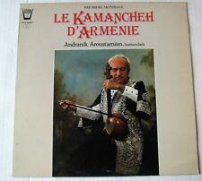 ANDRANIK AROUSTAMIAN (LP 33T) LE KAMANCHEH D'ARMENIE