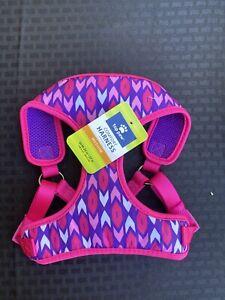 Top Paw Comfort Dog Harness Adjustable Pink & Purple! NEW!!- S, M, L