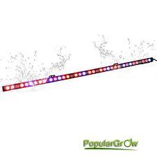 PopularGrow 108W UV IR Led Grow Light Bar Plant indoor Veg Flower Strip Lamp