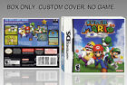 NINTENDO DS : SUPER MARIO 64 DS. ENGLISH. COVER + ORIGINAL BOX. (NO GAME).