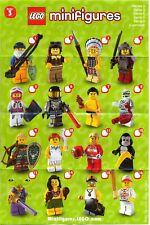 New Collectable mini Lego figures series 3