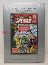 Marvel Masterworks The Avengers 1 Hardcover Book  - Sealed - VF