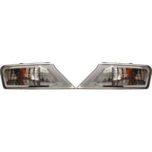 New CH2521145, CH2520145 Parking Light Set for Jeep Liberty 2008-2012